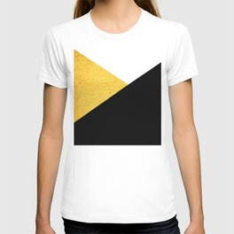 Gold & Black Geometry T-shirt