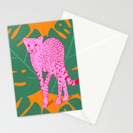 A quick cheetah Stationery Cards