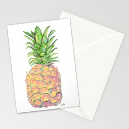 Brite Pineapple Stationery Cards