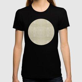 """""""Nude Burlap Texture"""" T-shirt"""