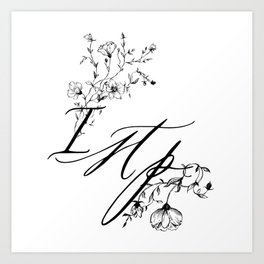 ISTP Art Print