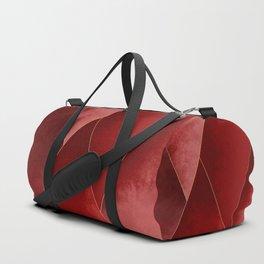 Crimson Tones Duffle Bag