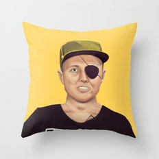 The Israeli Hipster leaders - Moshe Dayan Throw Pillow