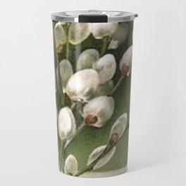 Vintage Pussy Willow Travel Mug
