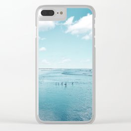 Cumberland birds by #Bizzartino Clear iPhone Case