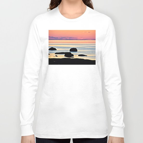 Painted Seas at Dusk Long Sleeve T-shirt