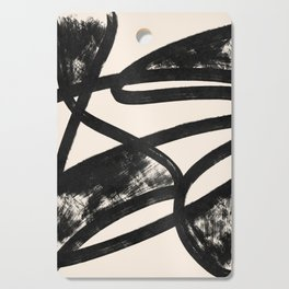That was a cow - Abstraction print Cutting Board