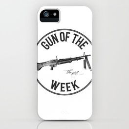 Gun of the Week 'The Pig' iPhone Case