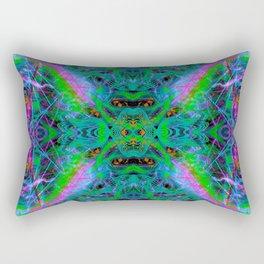 Techno Electric IV (Ultraviolet) Rectangular Pillow