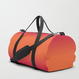 Sunset Tie Dye Gradient Colors Spectrum Harmony Duffle Bag