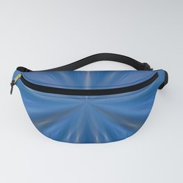 Blue Pinch Fanny Pack