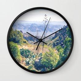 Vibrant Desert Landscape Wall Clock