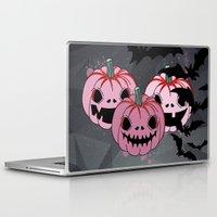 halloween Laptop & iPad Skins featuring Halloween by mark ashkenazi
