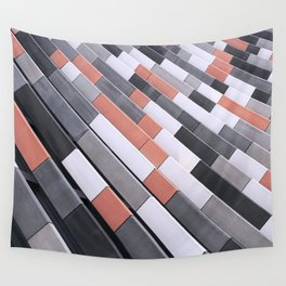 Repeating Tiles Wall Tapestry
