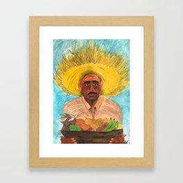 El Jibaro Framed Art Print