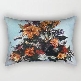 Bodegón de flores/Natureza morta de flores/Still life of flowers Rectangular Pillow