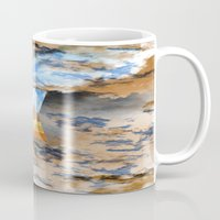 egypt Mugs featuring EGYPT by sametsevincer