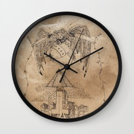 Malediction Wall Clock