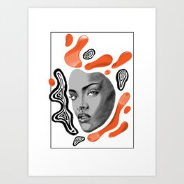 Robyn Fenty Art Print