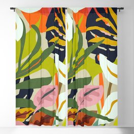 Jungle Abstract 2 Blackout Curtain