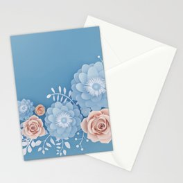 Rose Bleu Stationery Cards