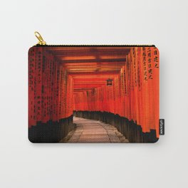 Walk through the red path Carry-All Pouch