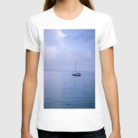 sailboat T-shirts featuring Sailboat by lennyfdzz