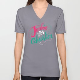 Junkie For Exhaustion Unisex V-Neck