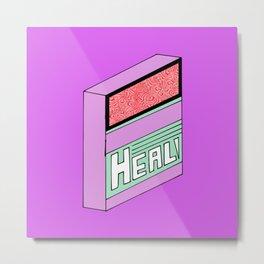 Heal! Metal Print