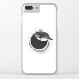 Coffee routine Clear iPhone Case