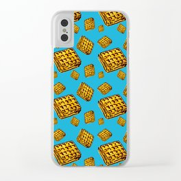 Waffle morning Clear iPhone Case