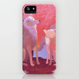 Howl Time iPhone Case