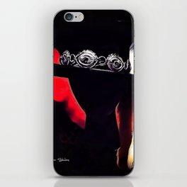 Stevie Ray Vaughan Famous Hat - Red iPhone Skin