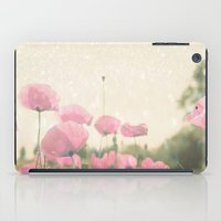 poppies iPad Cases featuring POPPIES by Monika Strigel