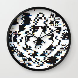 Twisted Quilt Wall Clock