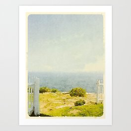 Pemaquid Point, Gate to the Ocean  Art Print