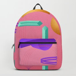 March Radness – Pink Basketball Print Backpack
