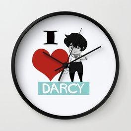 I love Darcy Wall Clock