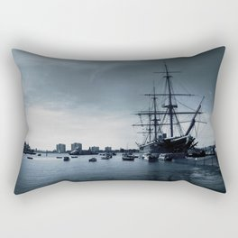Ship The Warrior HMS 1860 Rectangular Pillow