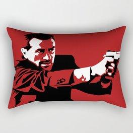 I Will Not Hesitate Rectangular Pillow
