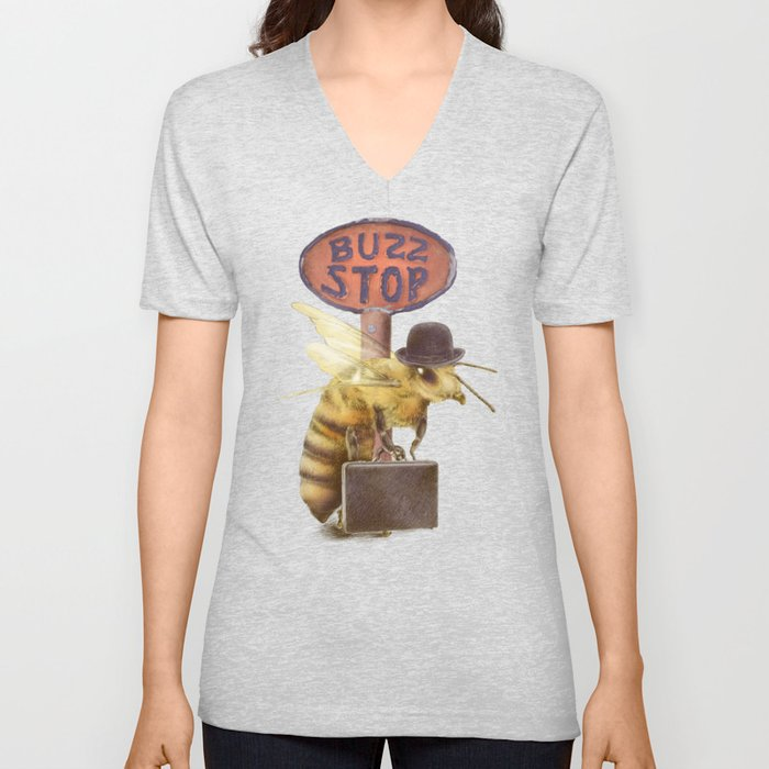 Worker Bee (colour option) Unisex V-Neck