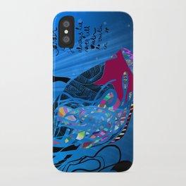 John 8/44+TheFish Nonrandom-art2 iPhone Case