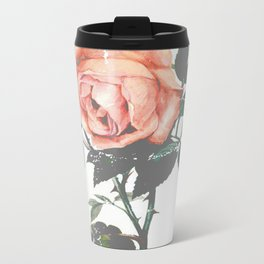 Thorned Rose Metal Travel Mug