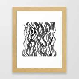 making waves Framed Art Print