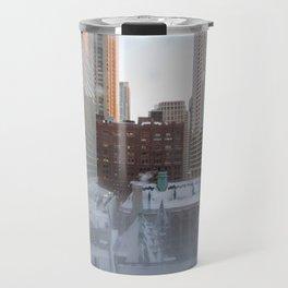 Chicago Morning Travel Mug