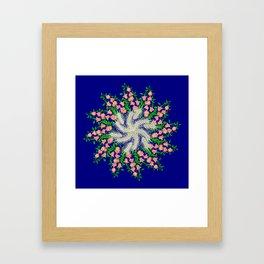 Mandala #103, Wheat, Symbol of Life Framed Art Print