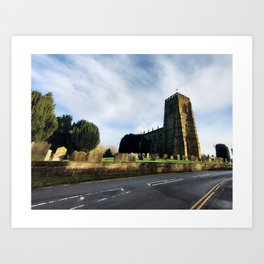 St Mary's Church, 2021 Art Print