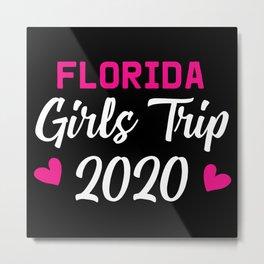 Florida Girls Trip Metal Print