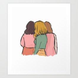 Women together Art Print
