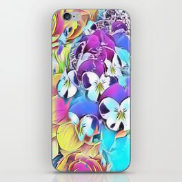 Candy Floral Mix iPhone Skin
